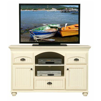 """Recent August Grove South Perth Solid Wood Tv Stand For Tvs Up To Intended For Aaric Tv Stands For Tvs Up To 65"""" (View 5 of 30)"""