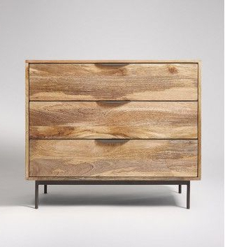 Recent Avallon, Chest Of Drawers, Mango Wood & Charcoal (View 11 of 30)