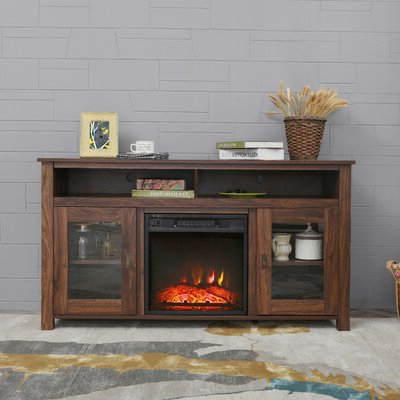 """Recent Benghauser 63"""" Wide Sideboards Throughout Credenza With Fireplace (View 3 of 30)"""