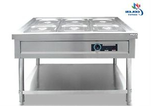 """Recent Herringbone 48"""" Wide Buffet Tables Intended For New 48"""" Steam Warmer 6 Tray Bin Server Catering Restaurant (View 26 of 30)"""