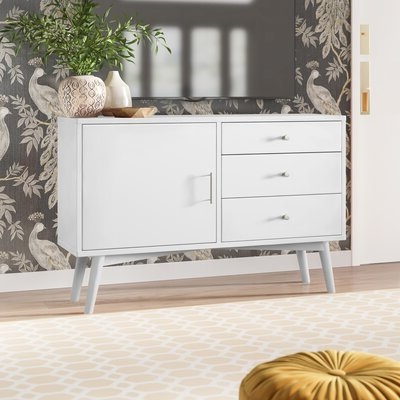 """Recent Josie Tv Stands For Tvs Up To 58"""" Inside White Tv Stands (View 14 of 30)"""