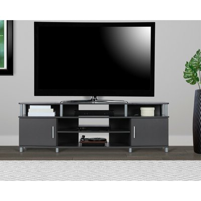 """Recent Lederman Tv Stands For Tvs Up To 70"""" Within 70 Inch And Larger Grey Tv Stands You'll Love In  (View 11 of 30)"""