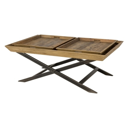 """Reclaimed Mango Wood Reese Round Semi Sphere Coffee Table Intended For Most Recently Released Macdonald 36"""" Wide Mango Wood Buffet Tables (View 28 of 30)"""