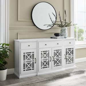 """Red Barrel Studio® Muli 60"""" Wide 3 Drawer Sideboard Intended For Current Caila 60"""" Wide 3 Drawer Sideboards (View 29 of 30)"""