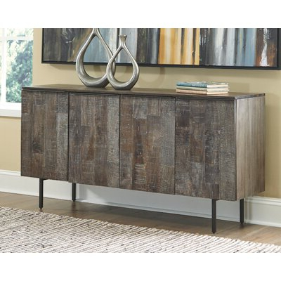Rustic White Sideboards & Buffets You'll Love In 2020 In Trendy  (View 23 of 30)