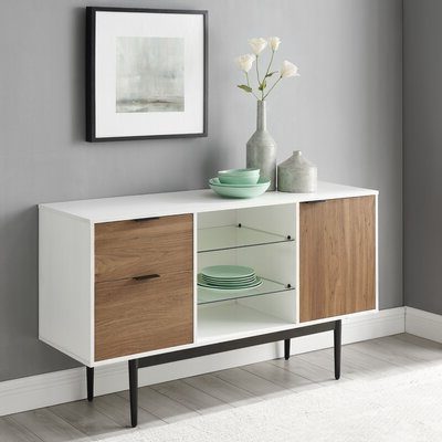 """Rustic White Sideboards & Buffets You'll Love In 2020 Throughout Current Ismay 56"""" Wide 3 Drawer Sideboards (View 2 of 30)"""
