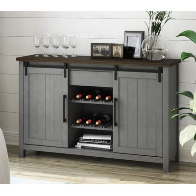 """Sandweiler 54"""" Wide 2 Drawer Sideboards Within Most Current Sideboards & Buffets You'll Love In (View 12 of 30)"""