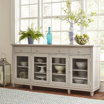 Shop Birch Lane For Sideboards & Kitchen Islands With Newest Orner Traditional Wood Sideboards (View 26 of 30)