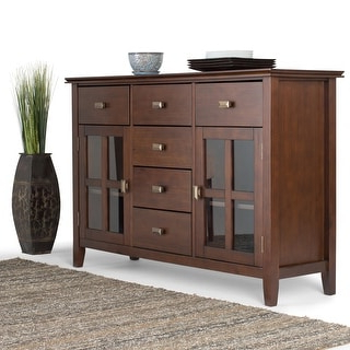 """Shop Irondale Acacia Wood 62 Inch Sideboard – Overstock In Current Stotfold 32"""" Wide Drawer Servers (View 22 of 30)"""