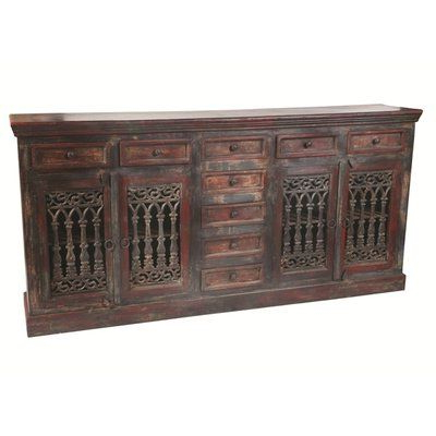 """Sideboard Buffet For Well Known Searsport 48"""" Wide 4 Drawer Buffet Tables (View 12 of 30)"""