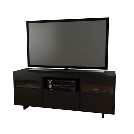 """Skofte Tv Stands For Tvs Up To 60"""" Throughout Most Current Nexera Vision 60 Inch Black Tv Stand (View 29 of 30)"""