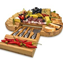 Solander Large Cheese Board And Knife Set With Regard To Latest Neidig (View 16 of 16)