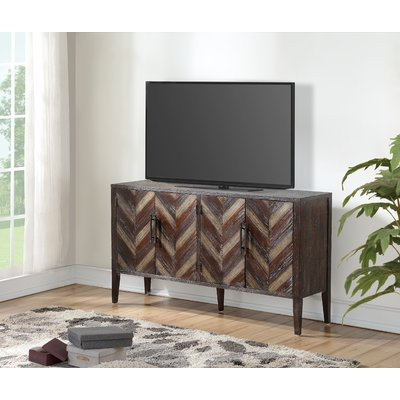 """Solid Wood Intended For Adalberto Tv Stands For Tvs Up To 65"""" (View 14 of 30)"""