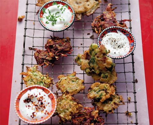 Sweet Potato And Chorizo Fritters Recipe – Eatout For Current Albermarle Sideboards (View 18 of 30)