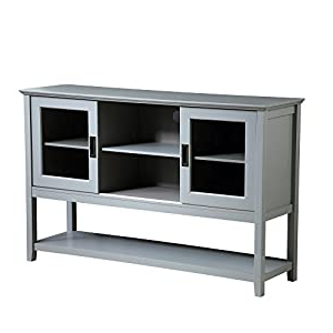 """Tabernash 55"""" Wood Buffet Tables Regarding Best And Newest Mixcept 55"""" Modern And Contemporary Sideboard Buffet (View 3 of 30)"""