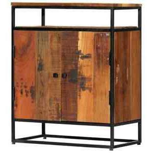 """Tarakan 43.3"""" Wide 3 Drawer Wood Sideboards Within Favorite Vidaxl Side Cabinet  (View 18 of 30)"""