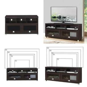 """Techni Mobili 58"""" Durbin Tv Stand For Tvs Up To 75 Inside Famous Berene Tv Stands For Tvs Up To 58"""" (View 22 of 30)"""