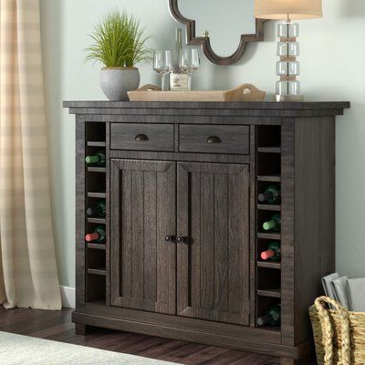 """Three Posts Sandhurst 48"""" Wide 2 Drawer Dining Server Intended For Best And Newest Ronce 48"""" Wide Sideboards (View 3 of 30)"""