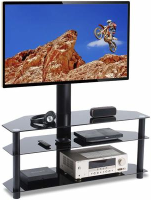 """Top 12 Best 65 Inch Tv Stands Of 2020 Reviews Intended For Fashionable Finnick Tv Stands For Tvs Up To 65"""" (View 8 of 30)"""