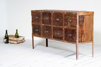 """Tree Inside Orianne 55"""" Wide 2 Drawer Sideboards (View 14 of 30)"""