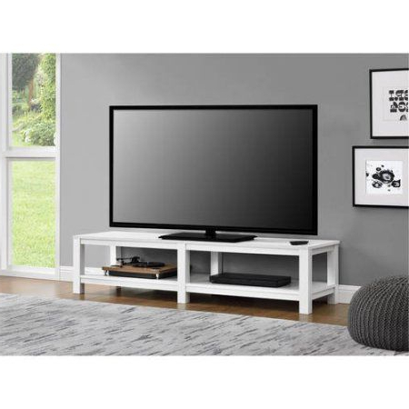 """Trendy Adrien Tv Stands For Tvs Up To 65"""" Intended For Mainstays Parsons Tv Stand For Tvs Up To 65 Inch, Multiple (View 23 of 30)"""