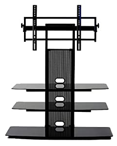 """Trendy Amazon: Transdeco Tv Stand With Universal Mounting For Finnick Tv Stands For Tvs Up To 65"""" (View 18 of 30)"""