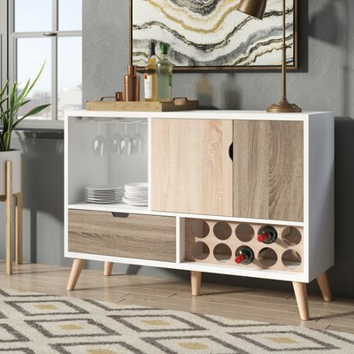 Trendy Armino Sideboards Regarding White Sideboards & Buffets You'll Love In (View 14 of 30)