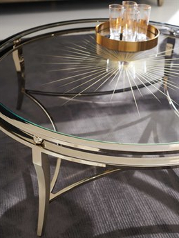 """Trendy Caracole Classic Whisper Of Gold / Neutral Metallic 48 Inside Dostie 48"""" Wide Buffet Tables (View 30 of 30)"""