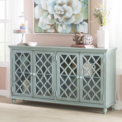 """Trendy Distressed Finish Sideboards & Buffets You'll Love In 2020 With Keiko 58"""" Wide Sideboards (View 25 of 30)"""
