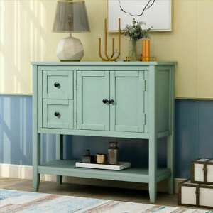 """Trendy Orianne 55"""" Wide 2 Drawer Sideboards In 36'' Modern Wood Console Table Sideboard Buffet W/2 Drawer (View 21 of 30)"""