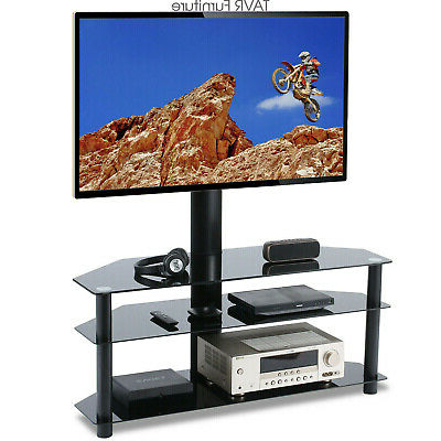 """Trendy Swivel Floor Tv Stand For 32 37 40 42 47 50 55 60 65 Inch Within Skofte Tv Stands For Tvs Up To 60"""" (View 14 of 30)"""