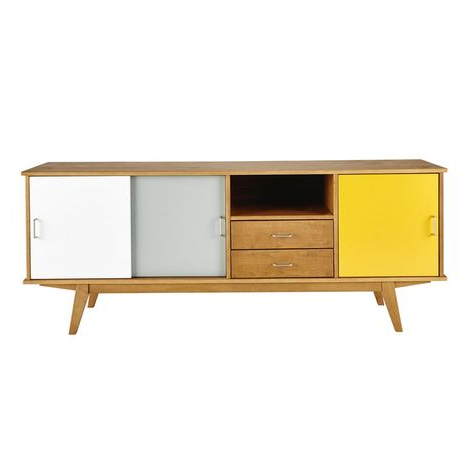 """Vintage Sideboard Intended For Most Recently Released Desirae 48"""" Wide 2 Drawer Sideboards (View 9 of 30)"""