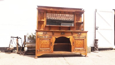Wales Storage Sideboards In Most Up To Date Shapland & Petter Arts Crafts Nouveau Inlaiid Sideboard (View 13 of 30)
