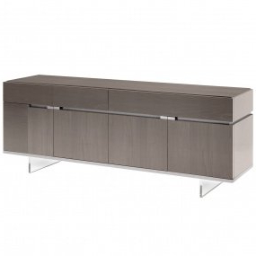 Wales Storage Sideboards With Regard To 2019 Montella 196cm High Gloss Extending Dining Table (View 14 of 30)