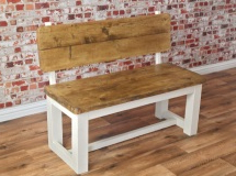 Wales Storage Sideboards Within 2020 Rustic Farmhouse Pine Pew Bench Made From Reclaimed Wood (View 22 of 30)