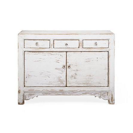 """Waverly White 3 Drawer Buffet Sku: 342058s33 45"""" W X 16"""" D In 2019 Maeva 60"""" 3 Drawer Sideboards (View 19 of 30)"""
