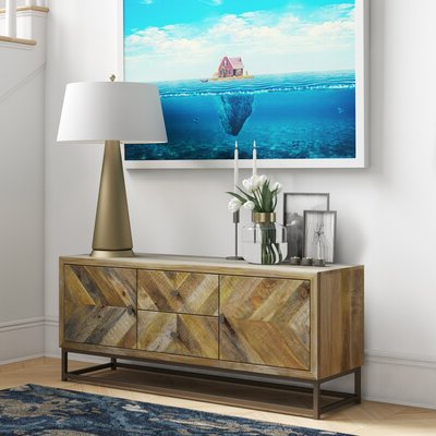 """Featured Photo of Strock 70"""" Wide Mango Wood Sideboards"""