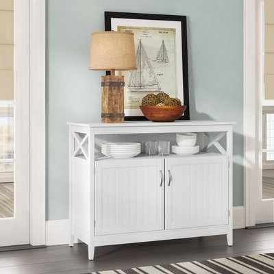 """Featured Photo of Lorraine 48"""" Wide 2 Drawer Acacia Wood Drawer Servers"""