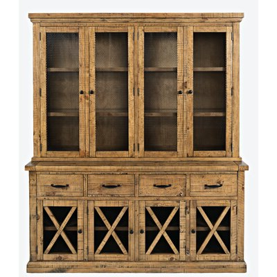"""Wayfair For Well Known Westhoff 60"""" Wide 6 Drawer Pine Wood Credenzas (View 8 of 30)"""