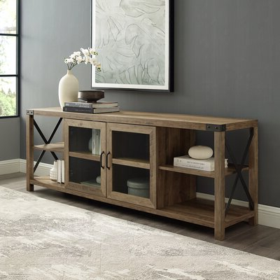 """Wayfair Intended For Ira Tv Stands For Tvs Up To 78"""" (View 24 of 30)"""