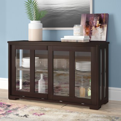"""Wayfair Intended For Popular Barkell 42"""" Wide 2 Drawer Acacia Wood Drawer Servers (View 17 of 30)"""
