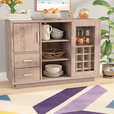 """Wayfair Intended For Well Liked Thame 70"""" Wide 4 Drawers Pine Wood Sideboards (View 8 of 30)"""