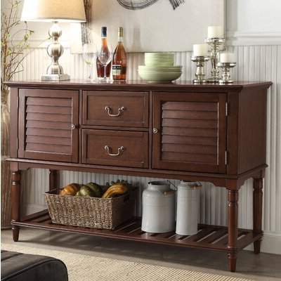 """Wayfair Pertaining To Current Aneisa 70"""" Wide 6 Drawer Mango Wood Sideboards (View 14 of 30)"""