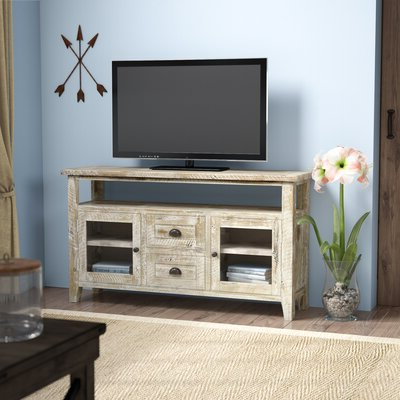 Wayfair Throughout Blaire Solid Wood Tv Stands For Tvs Up To  (View 5 of 30)