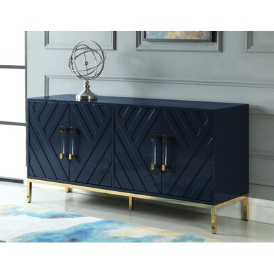 """Wayfair With 2020 Lorraine 48"""" Wide 2 Drawer Acacia Wood Drawer Servers (View 8 of 30)"""