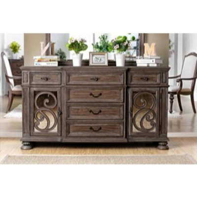 """Wayfair With Fashionable Emmie 84"""" Wide Sideboards (View 6 of 30)"""