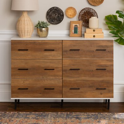 """Wayfair Within Fugate 48"""" Wide 4 Drawer Credenzas (View 28 of 30)"""