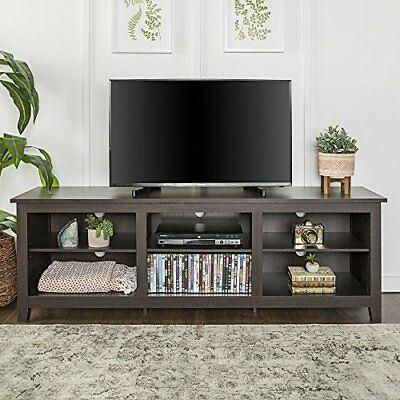 """We Furniture 70"""" Espresso Wood Tv Stand Console In Current Mainor Tv Stands For Tvs Up To 70"""" (View 26 of 30)"""