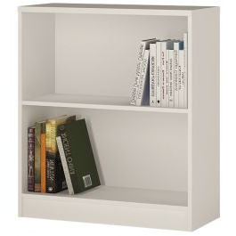 """Well Known 4 You Low Wide Bookcase In Pearl White Within Kidham 68"""" Wide Sideboards (View 20 of 30)"""