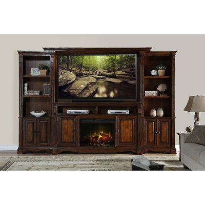 """Well Known 75 Inch Fireplace Tv Stands & Entertainment Centers You'll Regarding Lucille Tv Stands For Tvs Up To 75"""" (View 3 of 30)"""